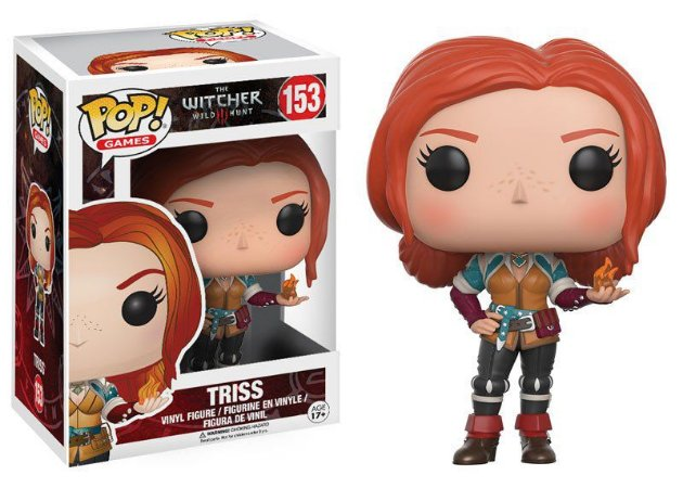 The Witcher Triss Pop - Funko