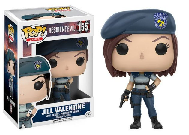 Resident Evil Jill Valentine Pop - Funko