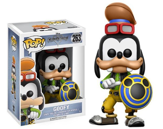 Disney Kingdom Hearts Goofy Pop - Funko