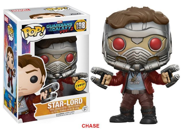 Guardians of the Galaxy Vol.2 Star-Lord Chase Limited Edition Pop - Funko
