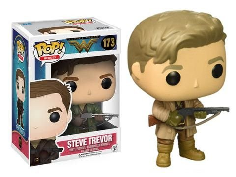 Wonder Woman Steve Trevor Pop - Funko