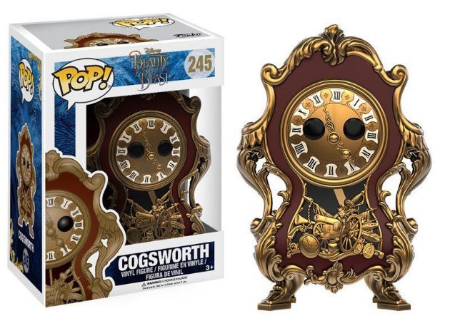Disney Beauty & The Beast Cogsworth Pop - Funko