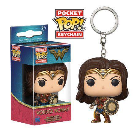 Chaveiro Wonder Woman Pocket Pop - Funko