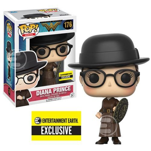 Wonder Woman Diana Prince EE Exclusive Pop - Funko