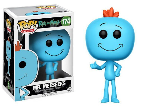 ***EM AGOSTO*** Rick and Morty Mr. Meeseeks Pop - Funko
