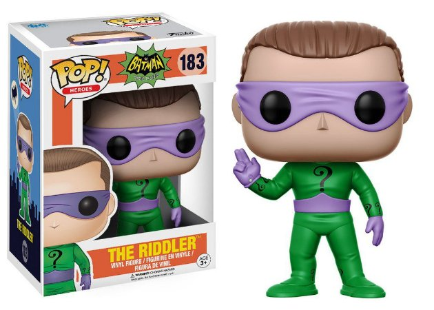 Batman 1966 The Riddler Pop - Funko
