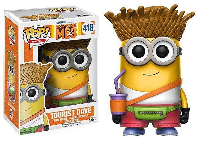 Meu Malvado Favorito Despicable Me Tourist Dave Pop - Funko