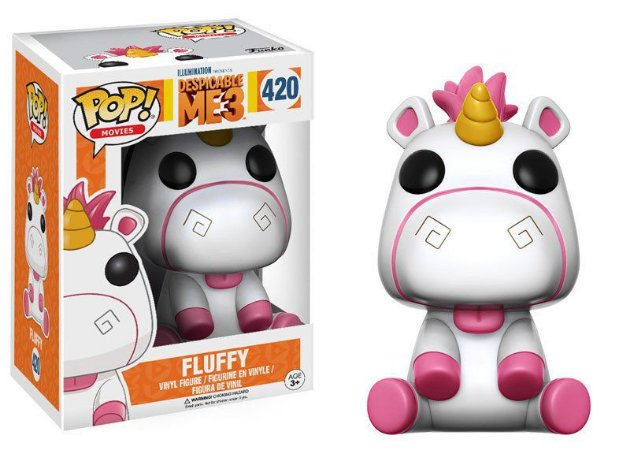 Meu Malvado Favorito Despicable Me Fluffy Pop - Funko