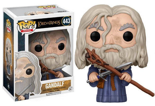 The Lord of the Rings Gandalf Pop - Funko