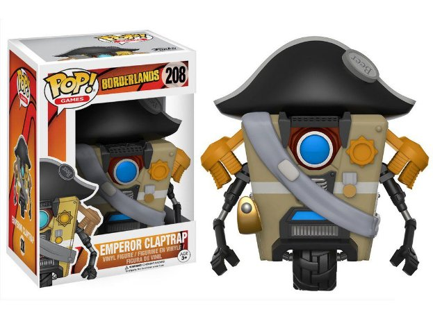 Borderlands Emperor Claptrap Pop - Funko