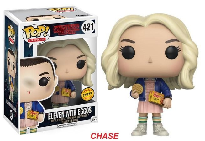 Stranger Things Eleven with Eggos Chase Limited Edition Pop - Funko