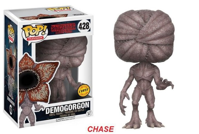 Stranger Things Demogorgon Chase Limited Edition Pop - Funko