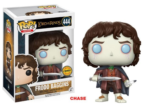 The Lord of the Rings Frodo Baggins Chase Limited Edition Pop - Funko