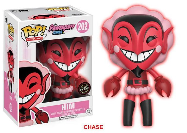 As Powerpuff Girls HIM Ele Chase Limited Edition Pop - Funko