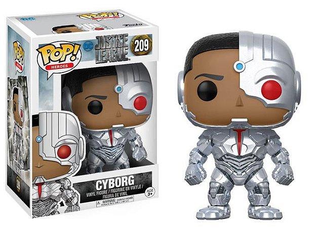 Justice League Liga da Justiça Cyborg Pop - Funko