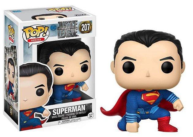 Justice League Liga da Justiça Superman Pop - Funko