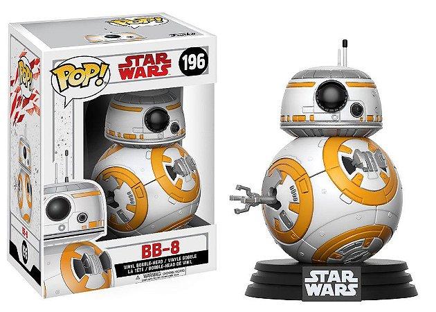 ***EM OUTUBRO*** Star Wars Last Jedi BB-8 Pop - Funko