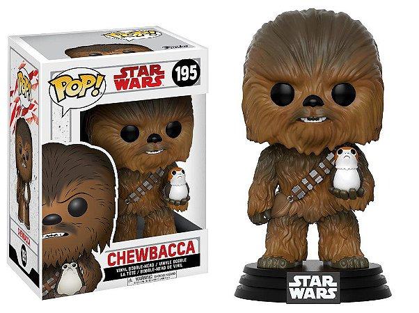 Star Wars Last Jedi Chewbacca Pop - Funko