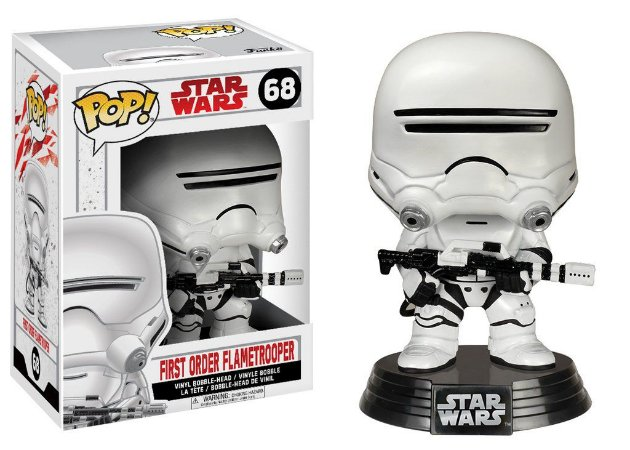 **PROMO**Star Wars Last Jedi First Order Flametrooper Pop - Funko