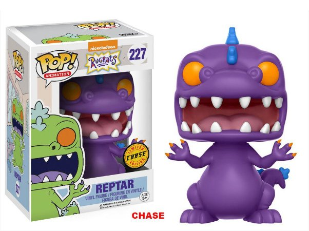 Os Anjinhos Rugrats Reptar Chase Limited Edition Pop - Funko
