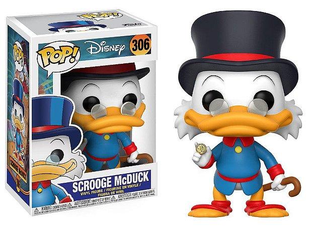 Disney Ducktales Scrooge McDuck Tio Patinhas Pop - Funko