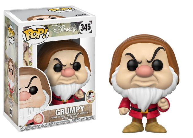Disney Snow White Grumpy Zangado Pop - Funko