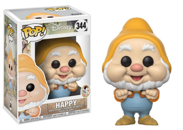 Disney Snow White Happy Feliz Pop - Funko