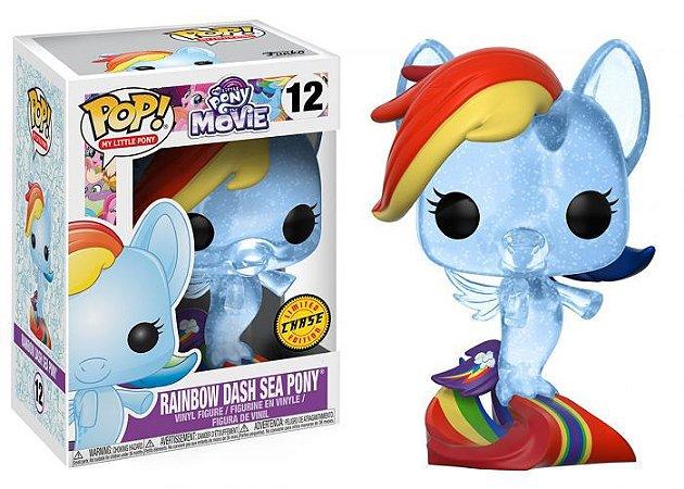 My Little Pony Rainbow Dash Sea Pony Chase Limited Edition Pop - Funko
