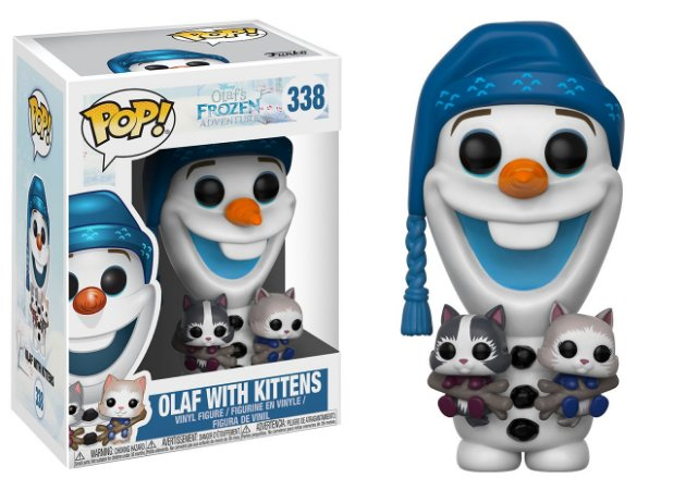Disney Olaf's Frozen Adventures Olaf with Kittens Pop - Funko