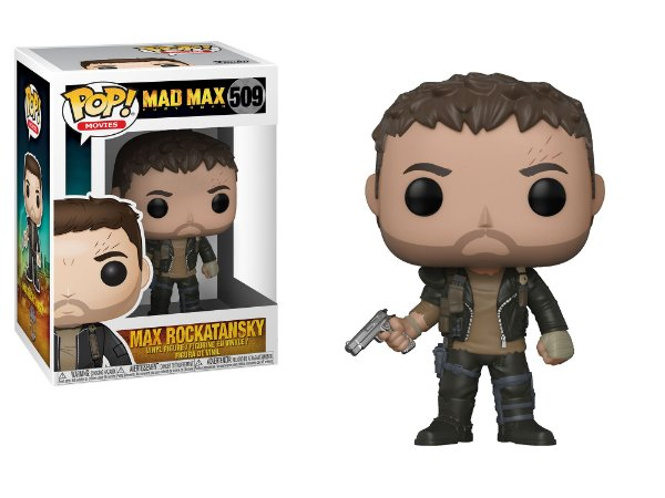 Mad Max Fury Road Max Rockatansky Pop - Funko
