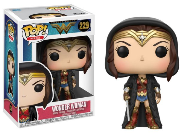 Wonder Woman Wonder Woman with Cloak  Pop - Funko
