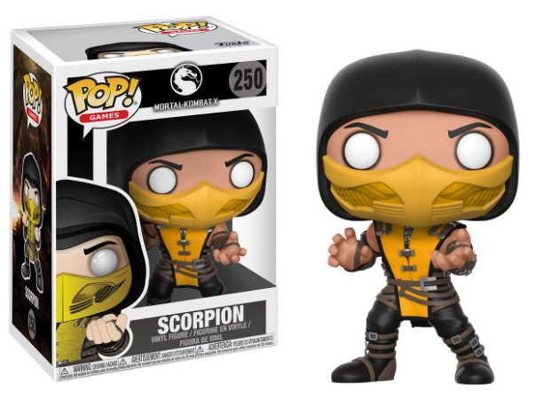 Mortal Kombat Scorpion Pop - Funko