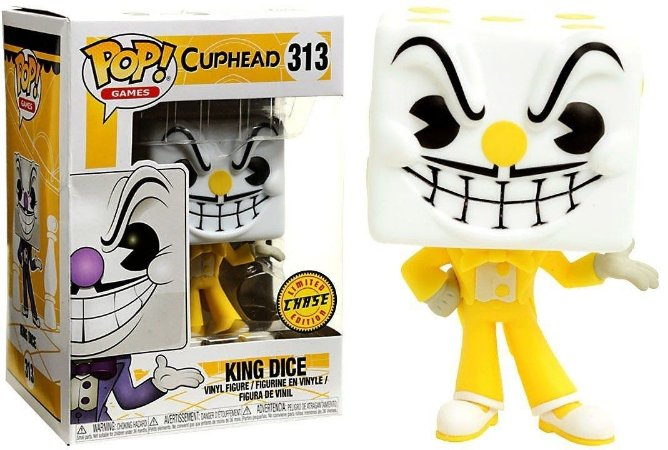Cuphead King Dice Chase Limited Edition Pop - Funko