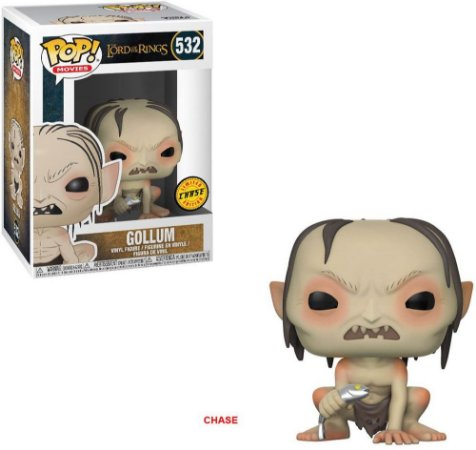 The Lord of the Rings Gollum Chase Limited Edition Pop - Funko