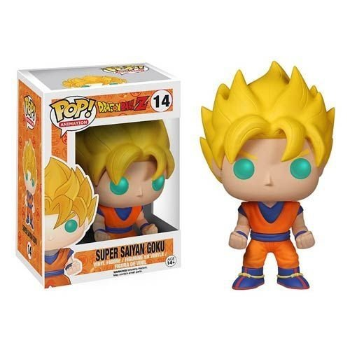 Dragon Ball Z Super Saiyan Goku Pop - Funko