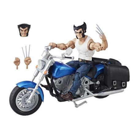 Marvel Legends Wolverine with Motorcyle - Hasbro