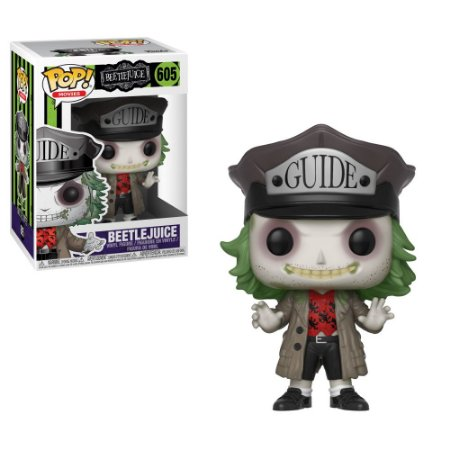 Os Fantasmas se Divertem Beetlejuice with Hat Pop - Funko