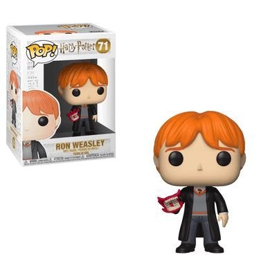 Harry Potter Ron Weasley with Howler Pop - Funko
