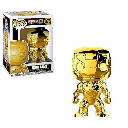 Marvel 10th Anniversary Gold Chrome Iron Man Pop - Funko