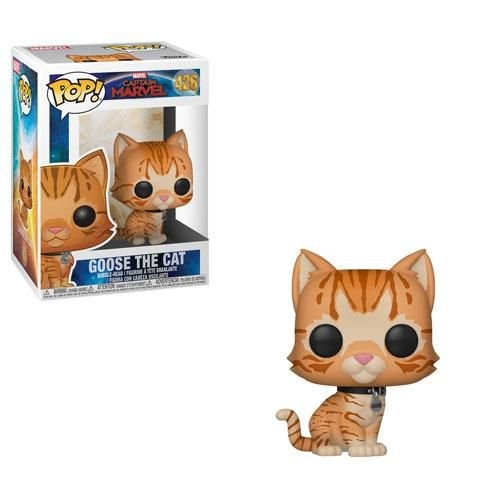 Captain Marvel Goose The Cat Pop - Funko