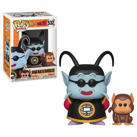 Dragon Ball Z King Kai & Bubbles Pop - Funko
