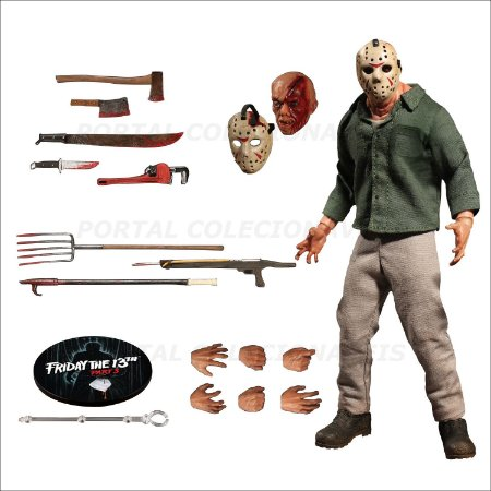 One:12 Jason Voorhees Friday The 13th Part 3 - Mezco