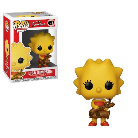 The Simpsons Lisa Simpson Pop - Funko
