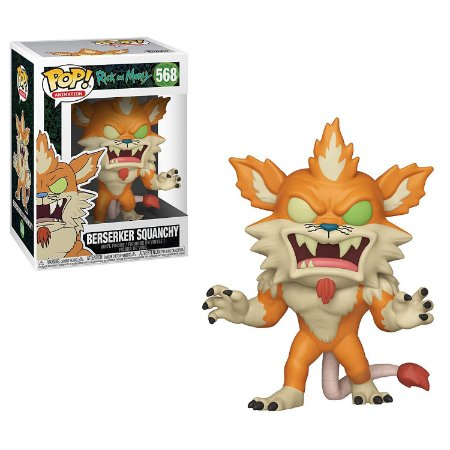 Rick and Morty Berseker Squanchy Pop - Funko