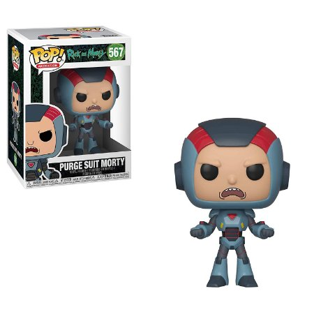 Rick and Morty Purge Suit Morty Pop - Funko
