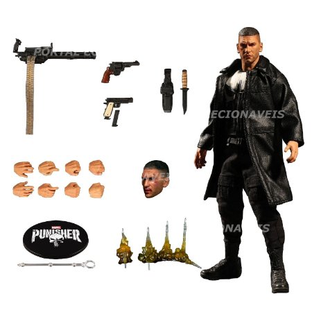 Marvel One:12 The Punisher O Justiceiro - Mezco