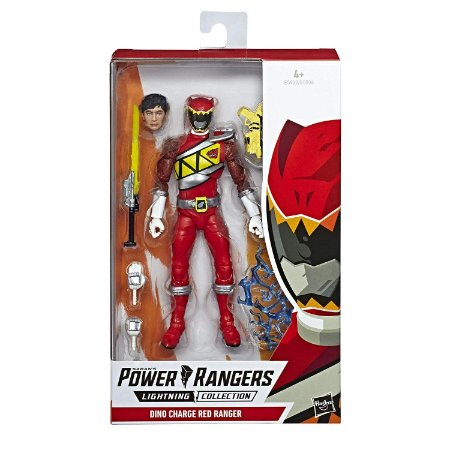Power Rangers Lightning Dino Charge Red Ranger - Hasbro