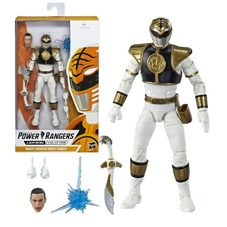 Power Rangers Mighty Morphin White Ranger - Hasbro