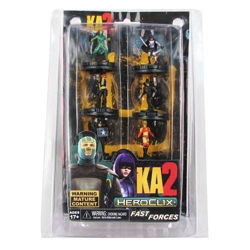 Kick Ass 2 Heroclix -c/6 Mini-figuras - Neca