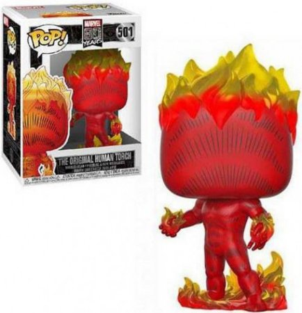 Marvel 80th Years The Original Human Torch Pop - Funko
